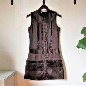 Brown Silk Jenny Han Tunic/Dress